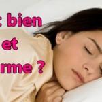 Comment bien dormir pour être en forme ?