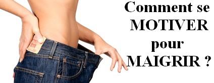 se motiver pour maigrir